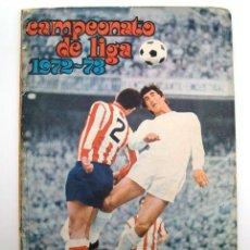Álbum de fútbol completo: ALBUM 1972 1973 FHER DISGRA FUTBOL. CAMPEONATO DE LIGA 72 73. COMPLETO CROMOS, SIN POSTER. Lote 97145171