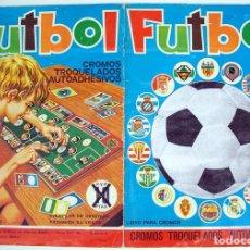 Álbum de fútbol completo: ALBUM 1975 1976 FUTBOL MAGA LIGA 75 76 COMPLETO. IRIBAR CRUYFF NETZER SANTILLANA VER FOTOS TODO. Lote 97229815