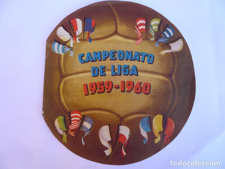 ALBUM CAMPEONATO DE LIGA 1959 - 1960 (Coleccionismo Deportivo - Álbumes y Cromos de Deportes - Álbumes de Fútbol Completos)