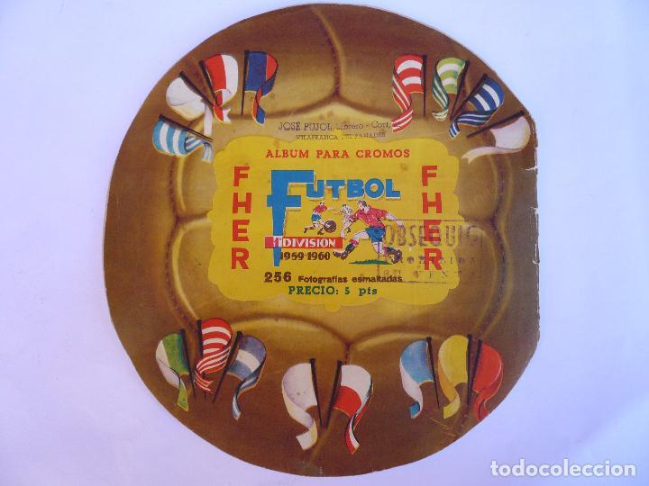 Álbum de fútbol completo: ALBUM CAMPEONATO DE LIGA 1959 - 1960 - Foto 2 - 97693919