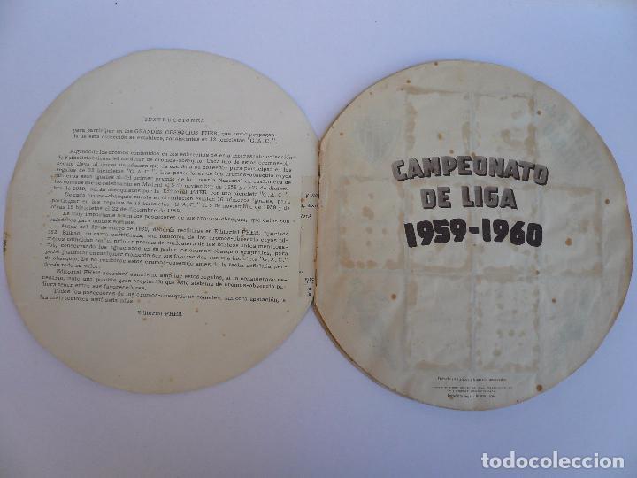 Álbum de fútbol completo: ALBUM CAMPEONATO DE LIGA 1959 - 1960 - Foto 3 - 97693919