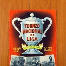 Álbum de fútbol completo: TORNEO NACIONAL DE LIGA 1953-1954, 53-54 - EDITORAL BRUGUERA - COMPLETO. Lote 97713883