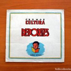Álbum de fútbol completo: CROMOS CULTURA ÁLBUM OCTAVO - EDITORIAL BRUGUERA 1941 - CON 106 CROMOS DOBLES - VER FOTOS INTERIORES. Lote 97755602