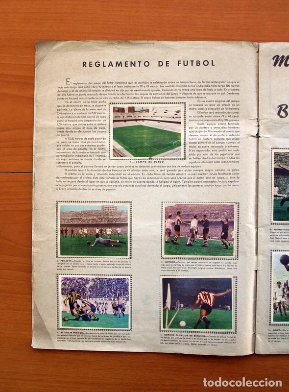 Álbum de fútbol completo: Álbum Fútbol y ases en acción - Exclusivas Triunfo 1959 - Completo - Foto 3 - 97761175