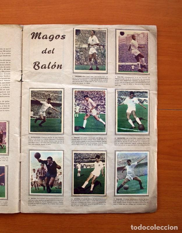 Álbum de fútbol completo: Álbum Fútbol y ases en acción - Exclusivas Triunfo 1959 - Completo - Foto 4 - 97761175