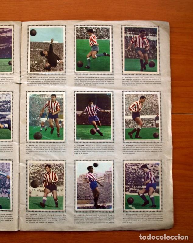 Álbum de fútbol completo: Álbum Fútbol y ases en acción - Exclusivas Triunfo 1959 - Completo - Foto 6 - 97761175
