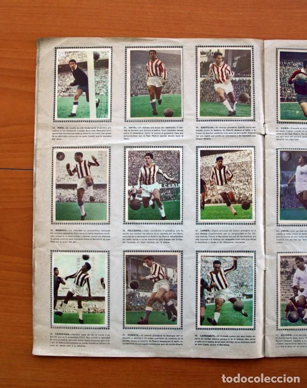 Álbum de fútbol completo: Álbum Fútbol y ases en acción - Exclusivas Triunfo 1959 - Completo - Foto 7 - 97761175