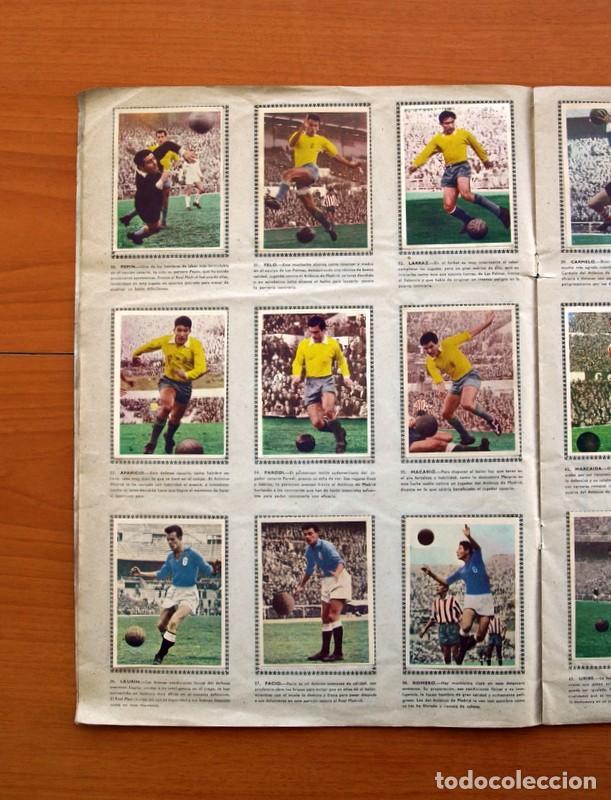 Álbum de fútbol completo: Álbum Fútbol y ases en acción - Exclusivas Triunfo 1959 - Completo - Foto 9 - 97761175