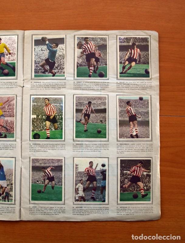 Álbum de fútbol completo: Álbum Fútbol y ases en acción - Exclusivas Triunfo 1959 - Completo - Foto 10 - 97761175