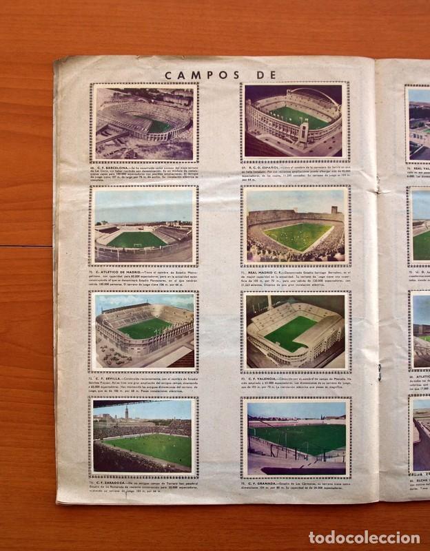 Álbum de fútbol completo: Álbum Fútbol y ases en acción - Exclusivas Triunfo 1959 - Completo - Foto 11 - 97761175