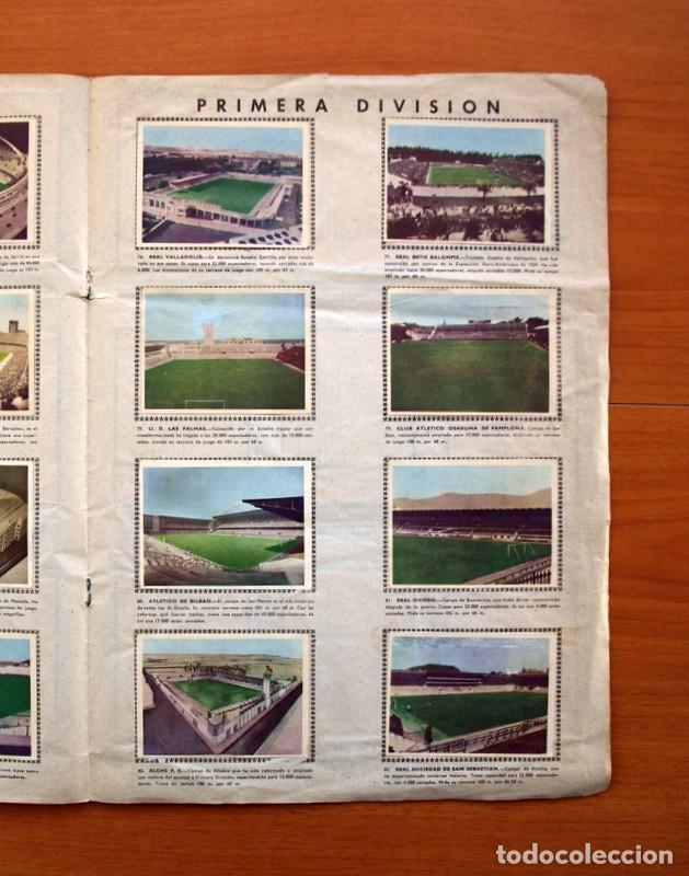 Álbum de fútbol completo: Álbum Fútbol y ases en acción - Exclusivas Triunfo 1959 - Completo - Foto 12 - 97761175