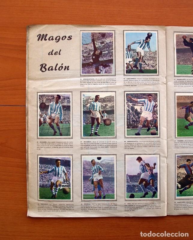 Álbum de fútbol completo: Álbum Fútbol y ases en acción - Exclusivas Triunfo 1959 - Completo - Foto 13 - 97761175
