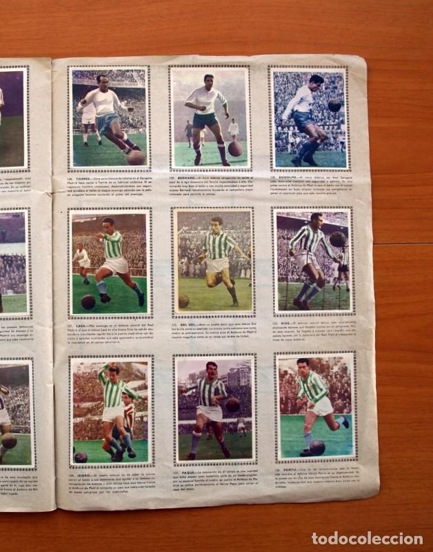 Álbum de fútbol completo: Álbum Fútbol y ases en acción - Exclusivas Triunfo 1959 - Completo - Foto 18 - 97761175