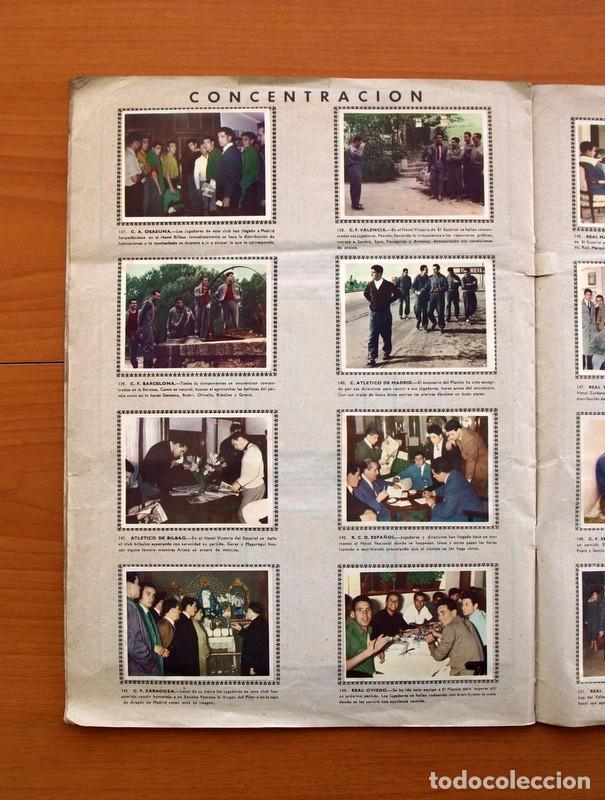 Álbum de fútbol completo: Álbum Fútbol y ases en acción - Exclusivas Triunfo 1959 - Completo - Foto 19 - 97761175