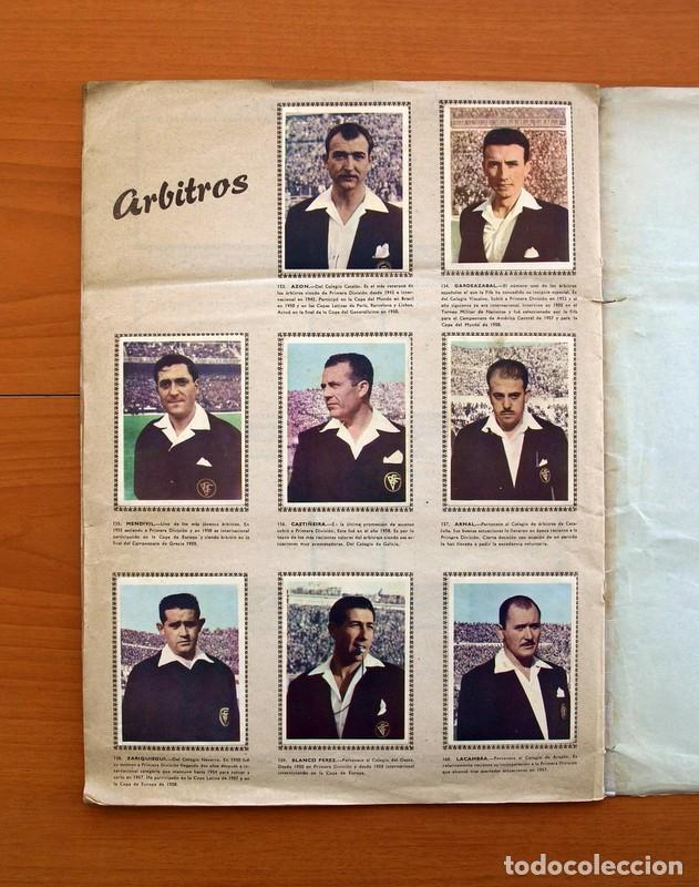 Álbum de fútbol completo: Álbum Fútbol y ases en acción - Exclusivas Triunfo 1959 - Completo - Foto 21 - 97761175