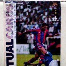 Álbum de fútbol completo: PRECIOSA COLECCION DE VIRTUAL CARDS TRIDIMENSIONALES DE LOS MEJORES GOLES DEL BARCELONA 1997. Lote 97848463