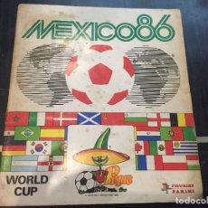 Álbum de fútbol completo: ALBUM DE FUTBOL MEXICO 86 PANNINI - COMPLETO. Lote 97907959