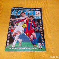 Álbum de fútbol completo: ESTE 2011 2012 COMPLETO CON ERROR KEVIN . Lote 97990791