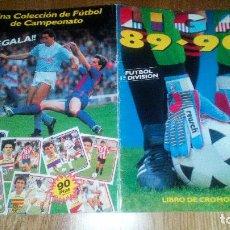 Álbum de fútbol completo: OPORTUNIDAD ALBUM PLANCHA VACIO SIN CROMOS LIGA 89- 90. Lote 98030295