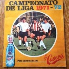 Álbum de fútbol completo: ALBUM CROMOS COMPLETO CAMPEONATO DE LIGA 1971 1972 71 72 ED. LA CASERA.. Lote 98194927