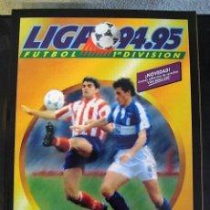 Album de football complet: LIGA 94/95 CROMOS INOLVIDABLES DEL FUTBOL ESPAÑOL (SALVAT). Lote 98431963