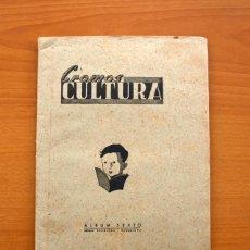 Álbum de fútbol completo: CROMOS CULTURA ÁLBUM SEXTO - EDITORIAL BRUGUERA 1941 - COMPLETO, VER FOTOS INTERIORES. Lote 98538159