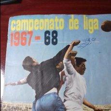 Álbum de fútbol completo: ALBUM DISGRA LIGA 67-68. COMPLETO Y EN PERFECTO ESTADO. Lote 98541011