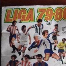 Álbum de fútbol completo: ALBUM LIGA ESTE 79-80 COMPLETO. UN CROMO POR CASILLA Y TODOS LOS FICHAJES. Lote 98625515