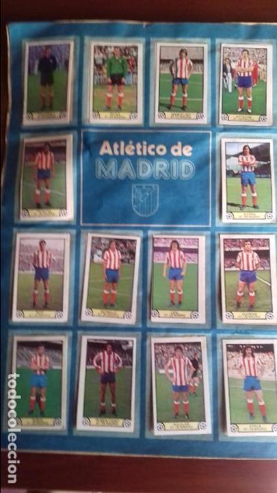 Álbum de fútbol completo: Album liga este 79-80 completo. Un cromo por casilla y todos los fichajes - Foto 3 - 98625515
