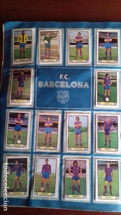 Álbum de fútbol completo: Album liga este 79-80 completo. Un cromo por casilla y todos los fichajes - Foto 7 - 98625515