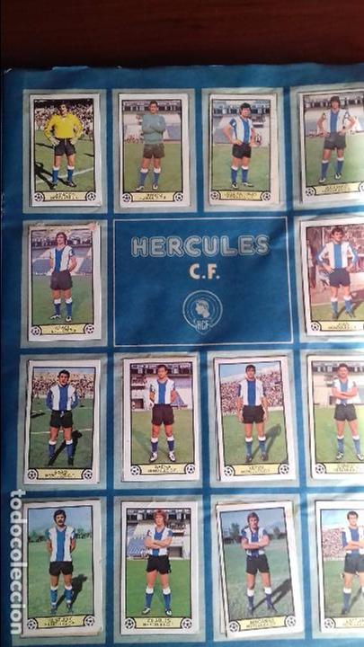 Álbum de fútbol completo: Album liga este 79-80 completo. Un cromo por casilla y todos los fichajes - Foto 8 - 98625515