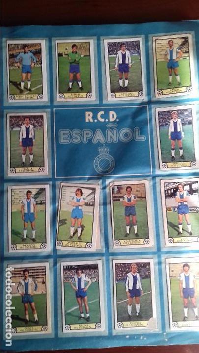 Álbum de fútbol completo: Album liga este 79-80 completo. Un cromo por casilla y todos los fichajes - Foto 10 - 98625515