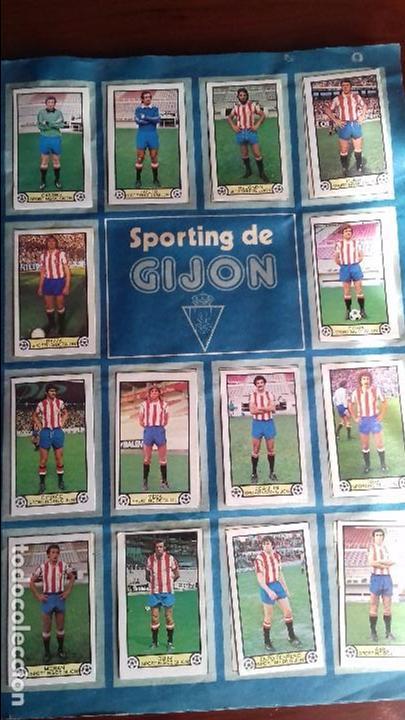 Álbum de fútbol completo: Album liga este 79-80 completo. Un cromo por casilla y todos los fichajes - Foto 16 - 98625515