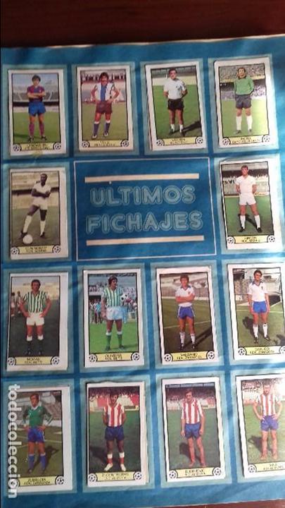 Álbum de fútbol completo: Album liga este 79-80 completo. Un cromo por casilla y todos los fichajes - Foto 20 - 98625515