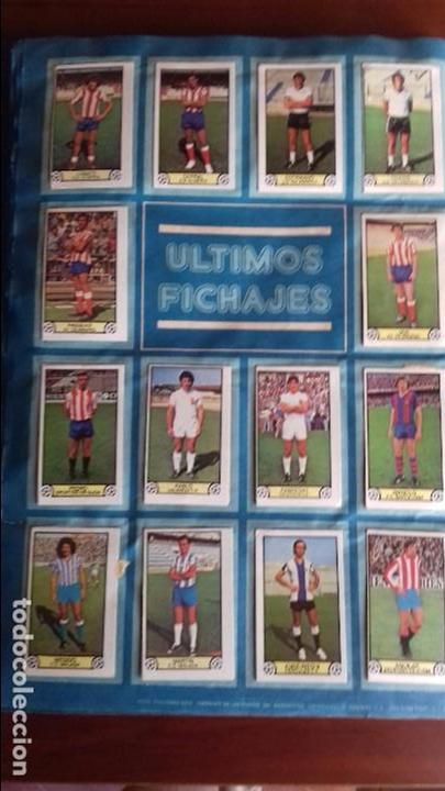 Álbum de fútbol completo: Album liga este 79-80 completo. Un cromo por casilla y todos los fichajes - Foto 21 - 98625515