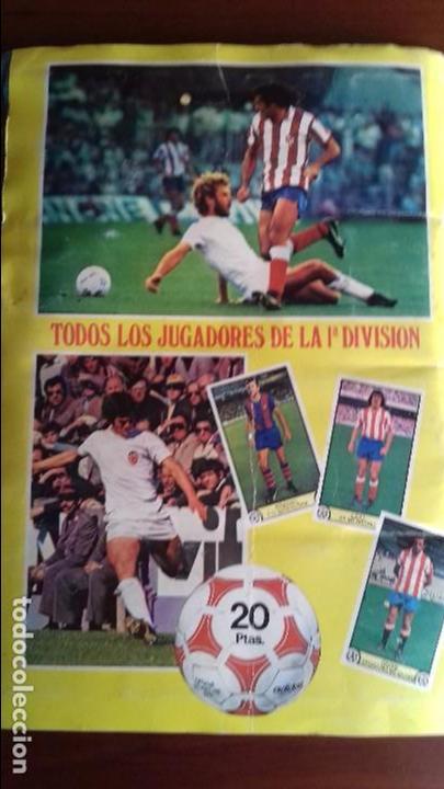Álbum de fútbol completo: Album liga este 79-80 completo. Un cromo por casilla y todos los fichajes - Foto 22 - 98625515