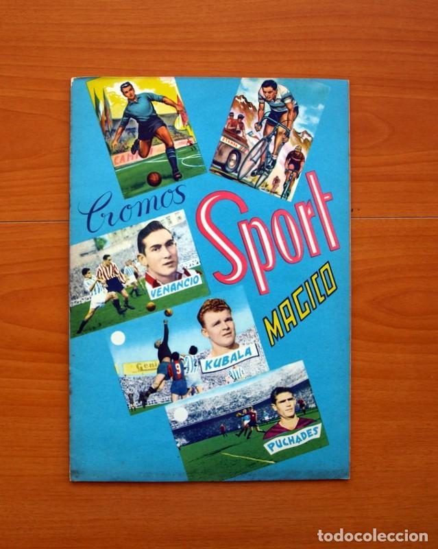ÁLBUM - SPORT MÁGICO - COMPLETO - EDITORIAL FHER 1953 - VER FOTOS Y EXPLICACIÓN INTERIOR (Coleccionismo Deportivo - Álbumes y Cromos de Deportes - Álbumes de Fútbol Completos)
