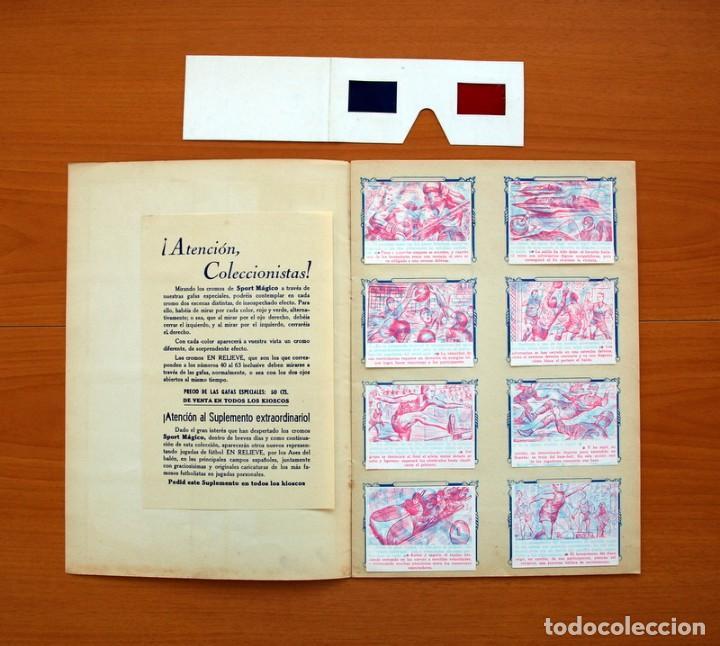 Álbum de fútbol completo: Álbum - Sport Mágico - Completo - Editorial Fher 1953 - Ver fotos y explicación interior - Foto 2 - 98737687