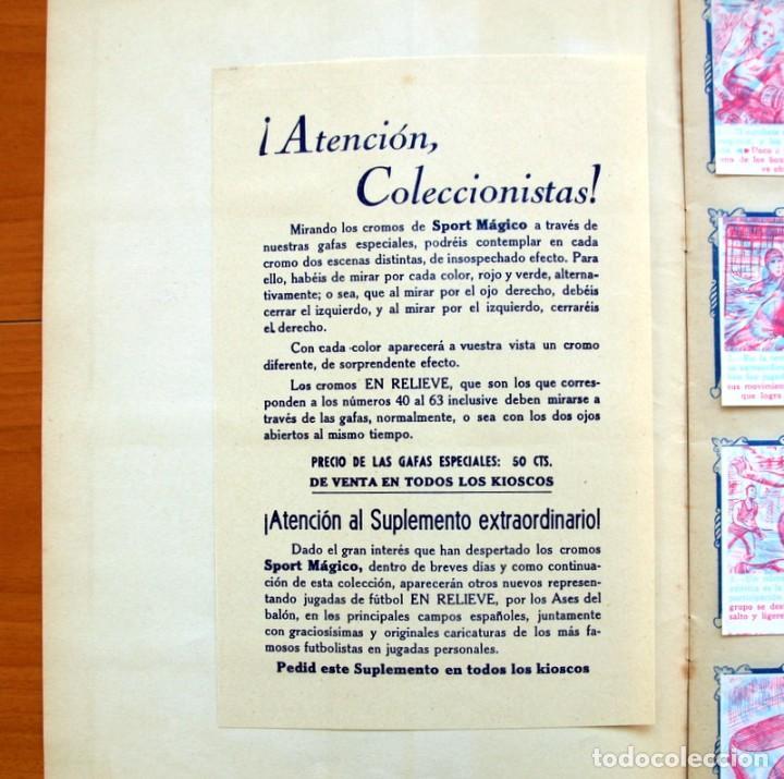 Álbum de fútbol completo: Álbum - Sport Mágico - Completo - Editorial Fher 1953 - Ver fotos y explicación interior - Foto 3 - 98737687
