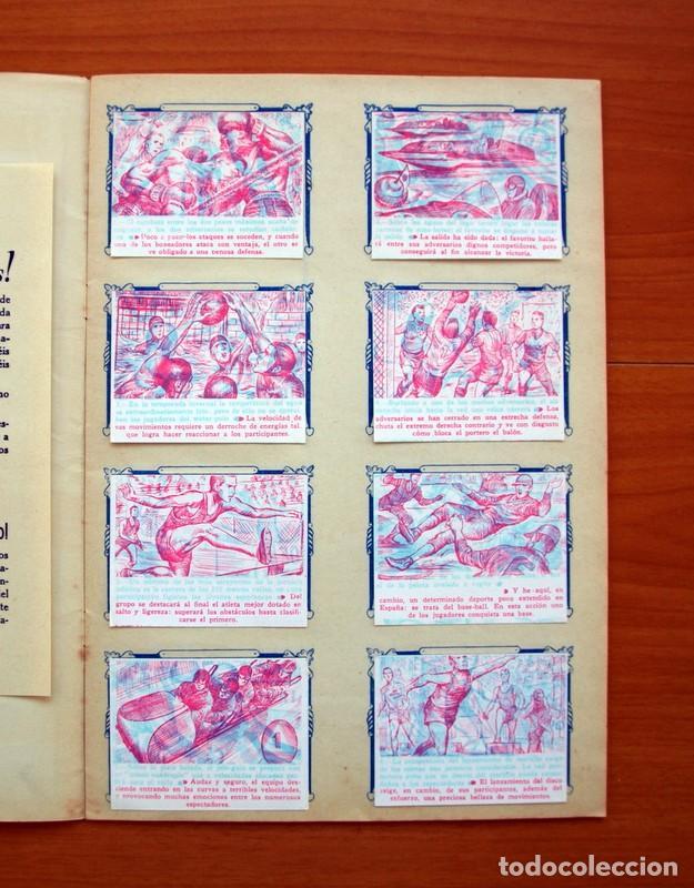 Álbum de fútbol completo: Álbum - Sport Mágico - Completo - Editorial Fher 1953 - Ver fotos y explicación interior - Foto 4 - 98737687