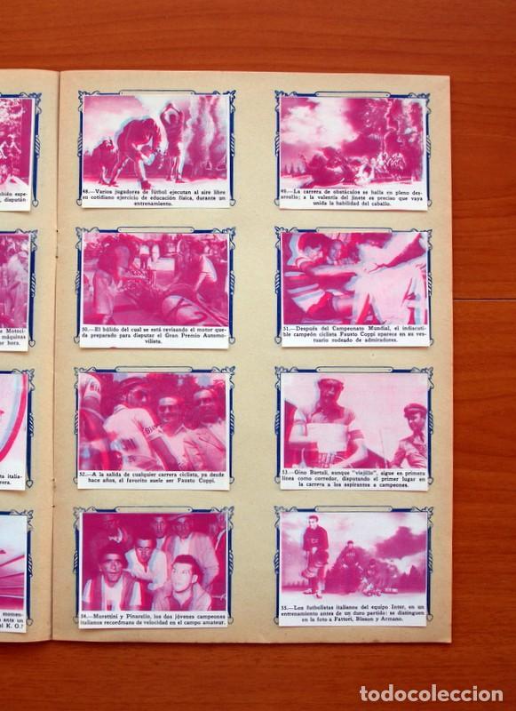 Álbum de fútbol completo: Álbum - Sport Mágico - Completo - Editorial Fher 1953 - Ver fotos y explicación interior - Foto 10 - 98737687