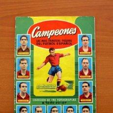 Álbum de fútbol completo: CAMPEONES LIGA 1953-1954, 53-54 - EDITORAL BRUGUERA - COMPLETO. Lote 98750547