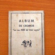 Álbum de fútbol completo: ÁLBUM - LOS CIEN ASES DEL FÚTBOL ESPAÑOL - AÑO 1935 -VER FOTOS Y EXPLICACIONES INTERIORES - COMPLETO. Lote 98777095