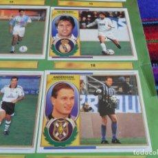 Álbum de fútbol completo: ESTE LIGA 1996 1997 96 97 CON SECRETARIO, ANDERSSON, MUCHO COLOCA Y DOBLE EN BUEN ESTADO.. Lote 98780195