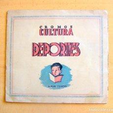 Álbum de fútbol completo: CROMOS CULTURA ALBUM CUARTO - LIGA 41-42 - EDITORIAL BRUGUERA - COMPLETO - VER FOTOS INTERIORES. Lote 98959543