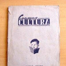 Álbum de fútbol completo: CROMOS CULTURA ALBUM TERCERO - EDITORIAL EL GATO NEGRO 1940 - COMPLETO - VER FOTOS INTERIORES. Lote 98960491