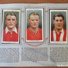 Álbum de fútbol completo: ÁLBUME ORIGINAL CON CROMOS DE CIGARRILLOS - COPA DE INGLATERRA - 1935. Lote 99224571