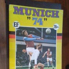 Álbum de fútbol completo: ALBUM FUTBOL MUNICH 74 FHER COCA COLA,COMPLETO. Lote 99236367