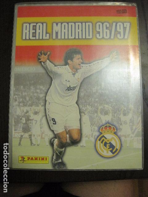 REAL MADRID 96 97 1996 1997 COMPLETO. PANINI.-VER FOTOS - (V-12.138) (Coleccionismo Deportivo - Álbumes y Cromos de Deportes - Álbumes de Fútbol Completos)