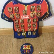 Álbum de fútbol completo: COLECCIÓN COMPLETA DIARIO MARCA (EUROCOPA 2000) Y CALCULADORA FUT CLUTBOL BARCELONA. Lote 98920075